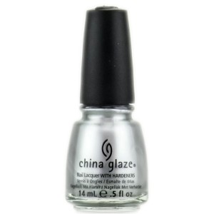 Victoria's a Shoe a Day: China Glaze Silver - DIY Holiday Nails