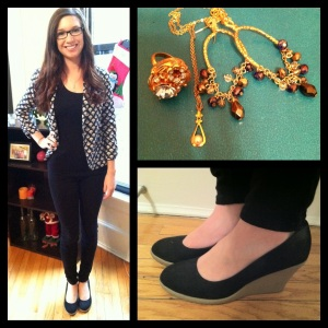 Victoria's a Shoe a Day: Chic Casual Friday Look