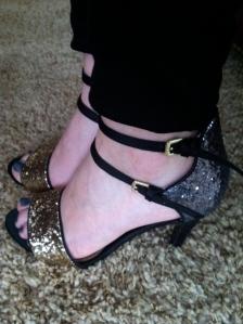 Victoria's a Shoe a Day: Lulu Townsend Glitter Sandals