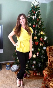 Victoria's a Shoe a Day: Christmas Outfit
