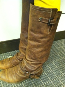 Victoria's a Shoe a Day: Brown Leather Boots