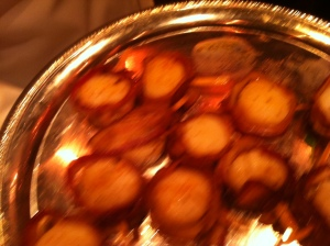Beck's Sapphire Event: Bacon Wrapped Scallops