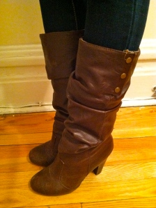 Victoria's a Shoe a Day: Leather Heel Boots