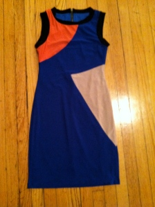 Victoria's a Shoe a Day: Colorblock Dress