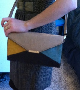Victoria's a Shoe a Day Colorblock Purse-Clutch
