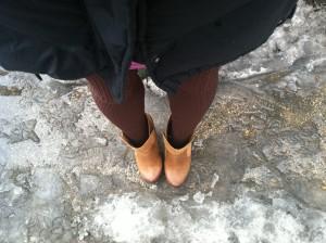 Victoria's a Shoe a Day: Winter Slush