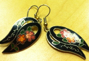 Victoria's a Shoe a Day: Vintage Flower Earrings