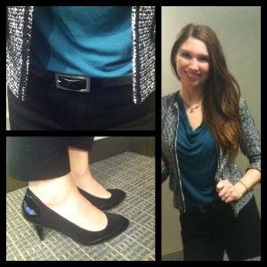 Victoria's a Shoe a Day: Classic Tweed Blazer & Crops