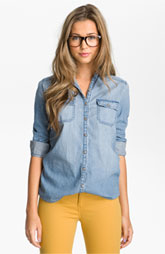 Victoria's a Shoe a Day: Chambray Shirt