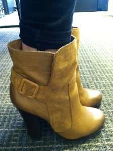 Victoria's a Shoe a Day: Leather/Suede Booties