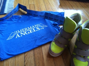 Victoria's a Shoe a Day: Imerman Angels gear